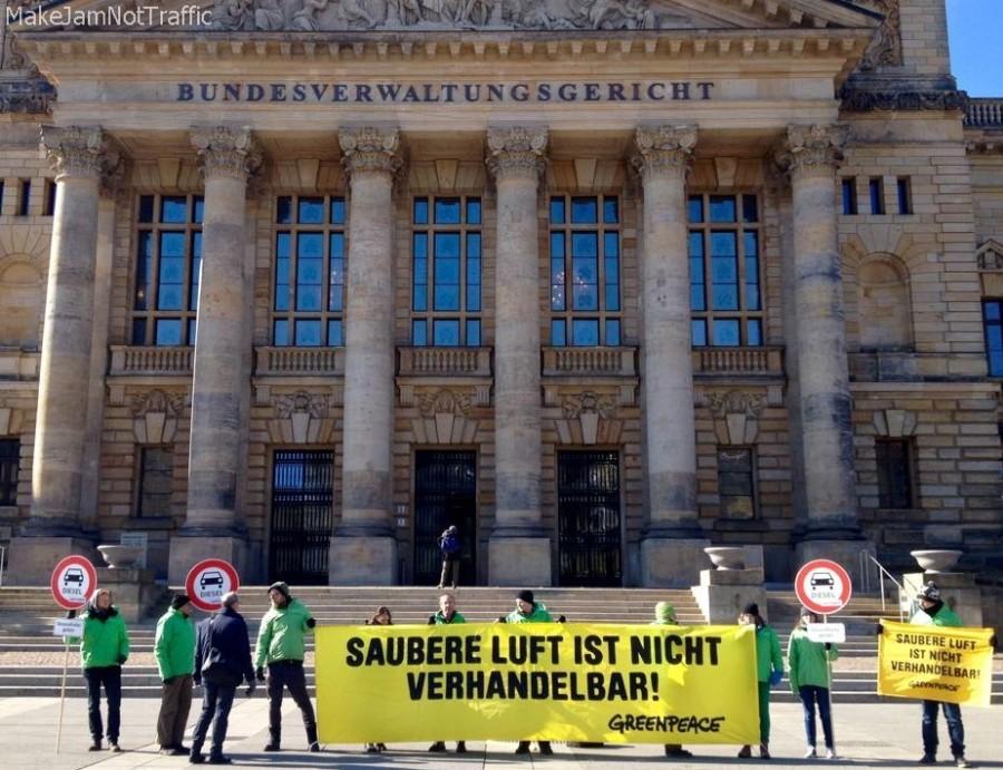 Bundesverwaltungsgericht Leipzig - Dieselfahrverbot
