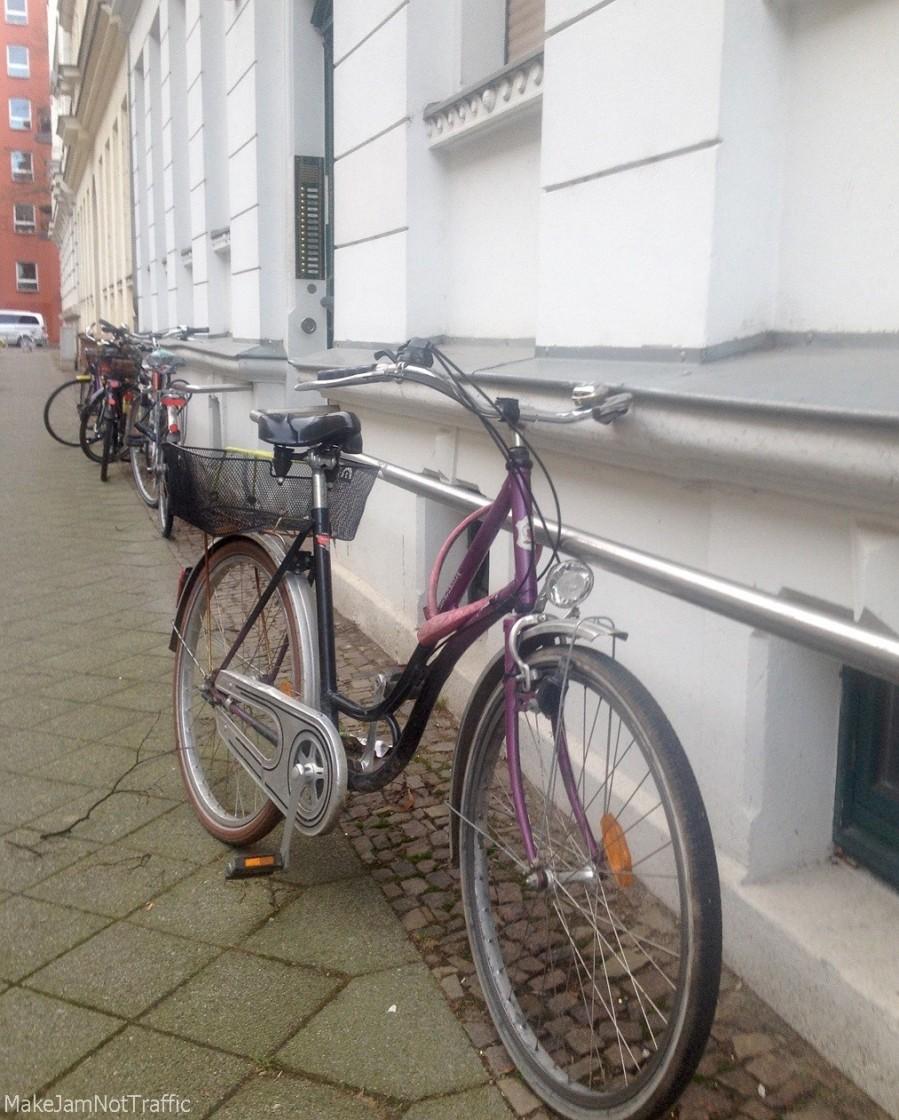 Sichere Abschließmöglichkeit des Fahrrades in Leipzig