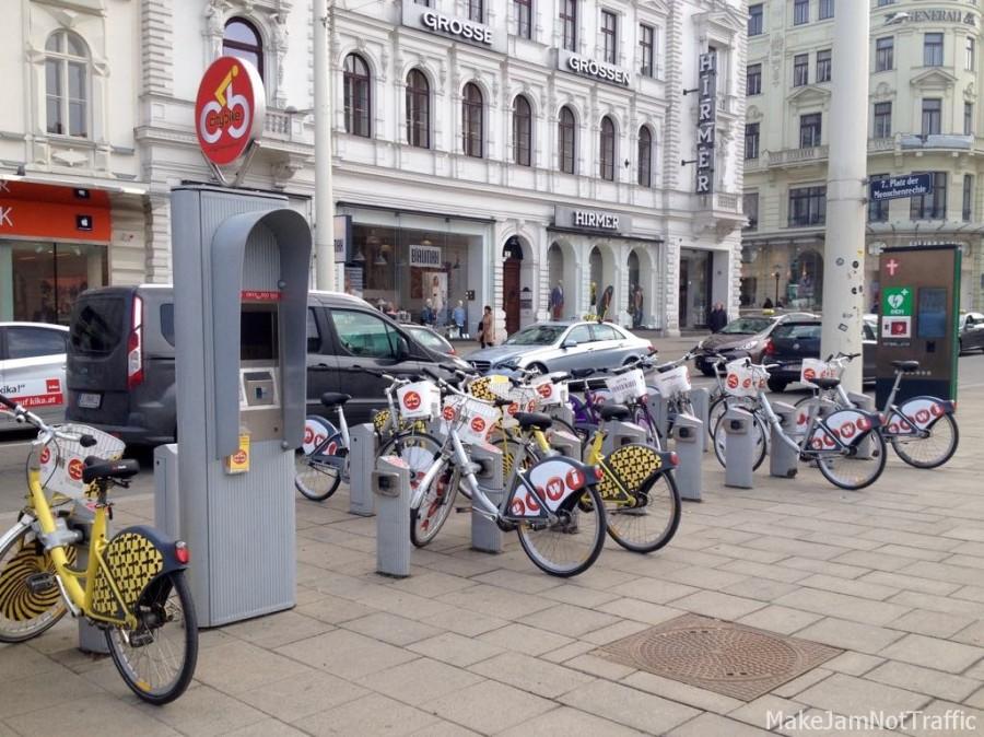 CityBike - Fahrradleihsystem in Wien